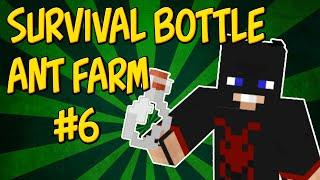 Minecraft | Bottle Ant Farm Survival #6 - Sugar Cane