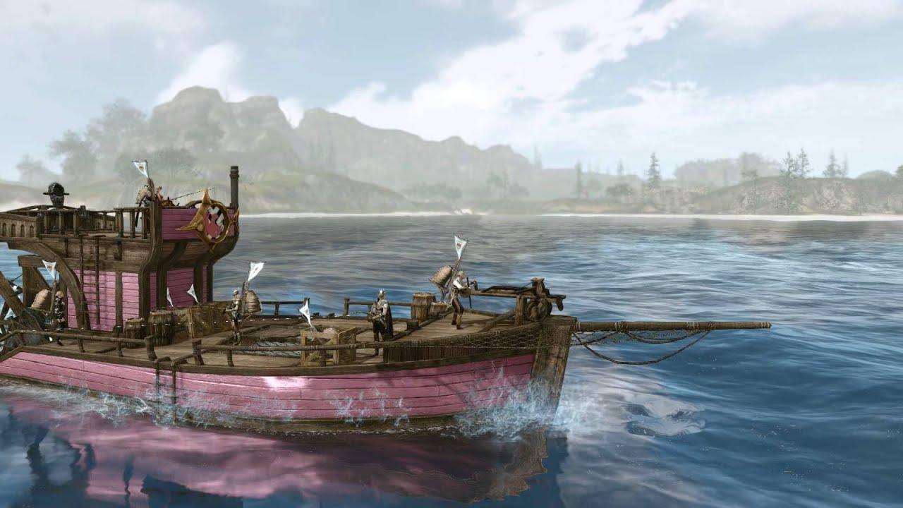 archeage как построить рыбацкий баркас
