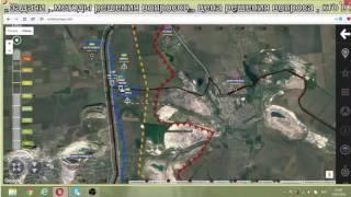 Обзор карты боевых действий на Донбассе от 15.07.2016 г.