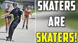 Skaters are Skaters Compilation #2 (Scooters, Kids, People, Skate, Skateboard)