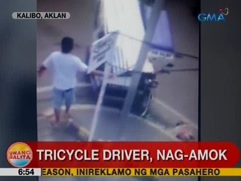 UB: Tricycle driver, nag-amok sa Kalikbo, Aklan