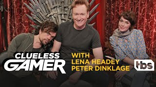 SNEAK PEEK: Overwatch w/ Lena Headey & Peter Dinklage | CONAN on TBS