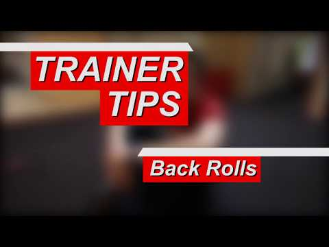 The Parkour Back Roll with Jim Sinclair - Trainer Training Tip