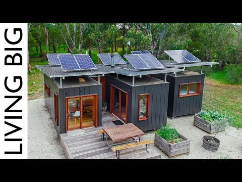 3 x 20ft Shipping Containers Turn Into Amazing Compact Home