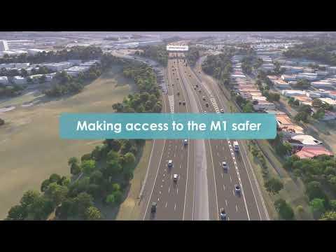 Mudgeeraba to Varsity Lakes upgrade: flythrough video