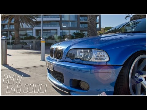 BMW E46 330CI (Slammed Productions)