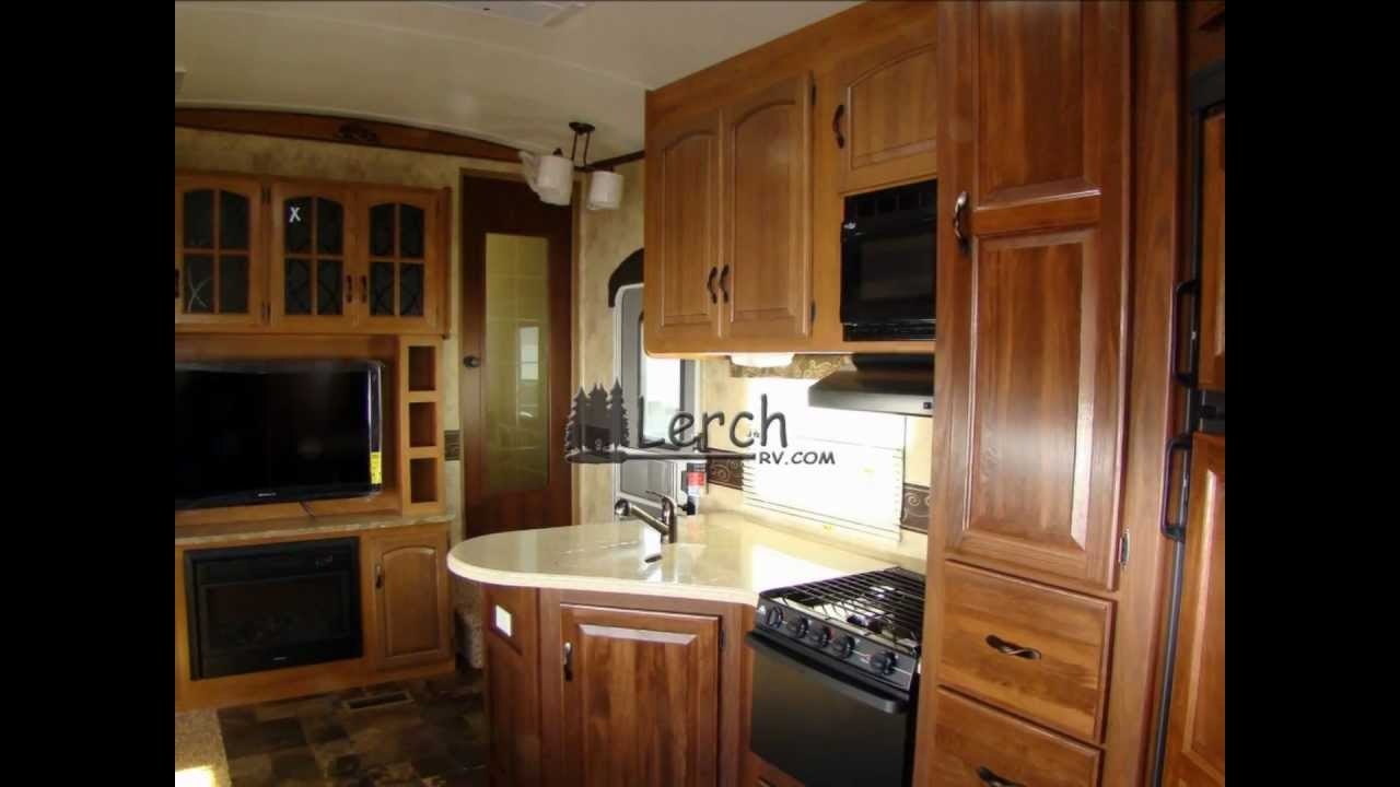 2012 Outback Sydney 340FBH bunk model 5th wheel camper by