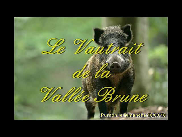 Le Vautrait de La Vallée brune 2018