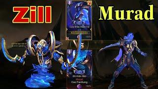 Liên Quân | Kèo Bất Tử Zill Cựu Thần Và Murad Đồ Thần Đao - Trang Phục Đẹp Nhất Hiện Nay - Ai Win??
