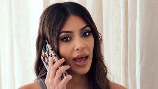 Kim Kardashian Reacts To Kanye & Nicki Minaj Music Video Shooting | Hollywoodlife