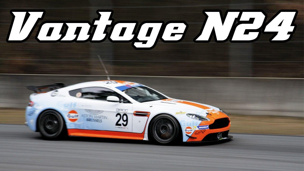 Aston Martin Vantage N24 Gt4 Pure V8 Sounds Youtube
