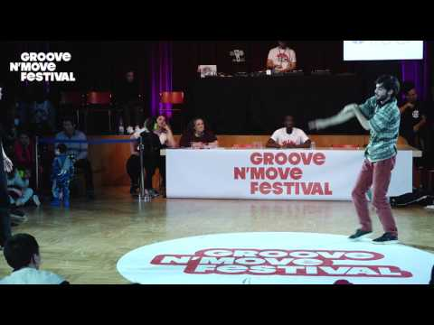 GROOVE'N'MOVE BATTLE 2017 - 1/4 Final Tutting - Marco vs Whitey