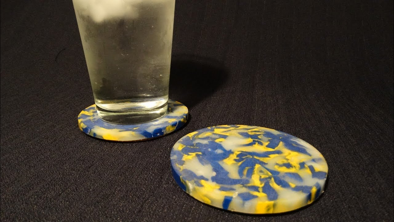 How To Make Recycled HDPE Coasters