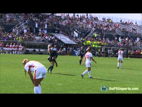 Women's Soccer Wins a Nailbiter Vs. The Fighting Illini