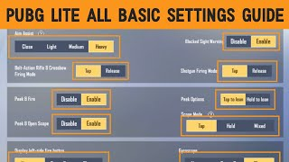 Pubg Mobile Lite All Basic Settings Guide In Hindi | All Settings Tips And Tricks | Official Mayank screenshot 5