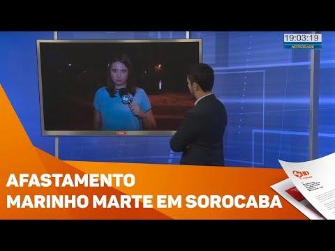 Afastamento Marinho Marte - TV SOROCABA/SBT