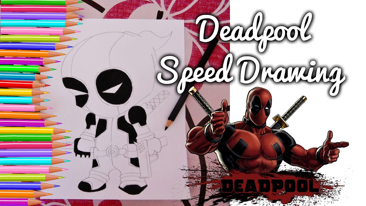 Drawing Deadpool (Chibi Version)   YouTube