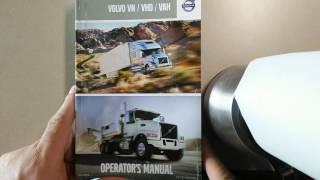 Инструкция по эксплуатации.VOLVO VNL 2016