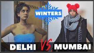 Mumbai VS. Delhi in Winters ❄️  Rickshawali