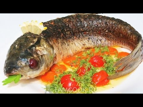Рыба в духовке (Белый Амур)
