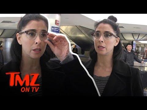 Sarah Silverman Is Very Nice To Her Trolls! | TMZ TV