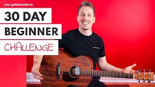 30 Day Beginner ChaĮlenge [Day 1] Guitar Lessons For Beginners