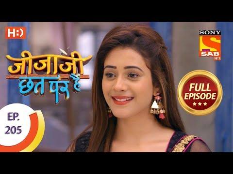Jijaji Chhat Per Hai - Ep 205 - Full Episode - 20th October, 2018