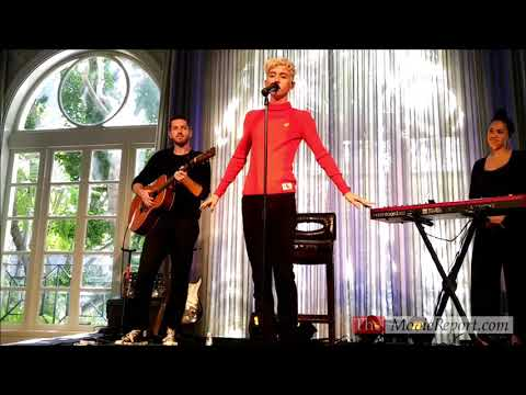 Troye Sivan live BOY ERASED music performance in Los Angeles - October 29, 2018 Mp3