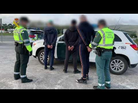 Cuatro detenidos en Algeciras por tratar de evitar controles