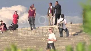 Leonardo DiCaprio and NEW GIRLFRIEND Toni Garrn at Versailles Castle