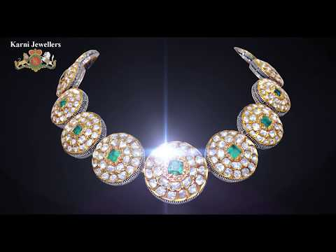 Jewellery in Nizam and Mughal Style