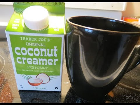 **Review** Trader Joe's Coconut Creamer (vegan, non-dairy, fat-free)