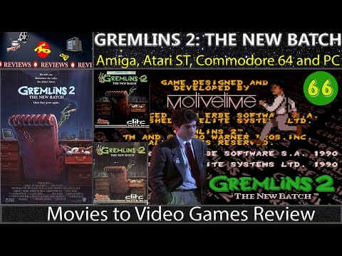 Movies to Video Games Review - Gremlins 2: The New Batch (Amiga/C64/Atari ST/DOS)