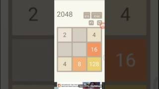 2048 : World higest tiles in 2048 tiny mode (3×3)