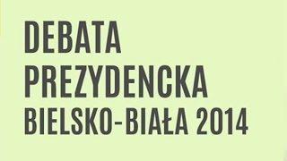 Debata Prezydencka. Bielsko-Biała 2014