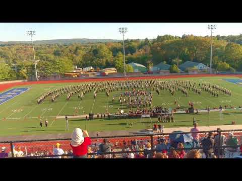 UMass Marching Band - Allentown College Band Show 2017