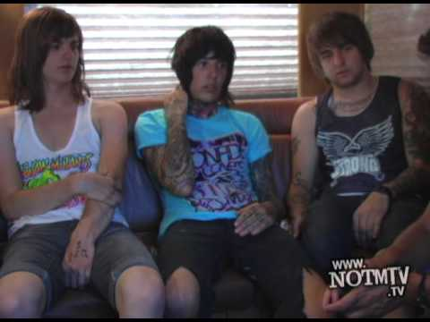Bring Me the Horizon RARE Interview from 2008 - On the Bus with Kevin Lyman