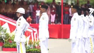 Trailer Rangkaian Upacara Penaikan Bendera Hut 73 RI di Sumut