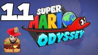 HAMBURGERS OF WERELDVREDE? - Super Mario Odyssey Multiplayer #11