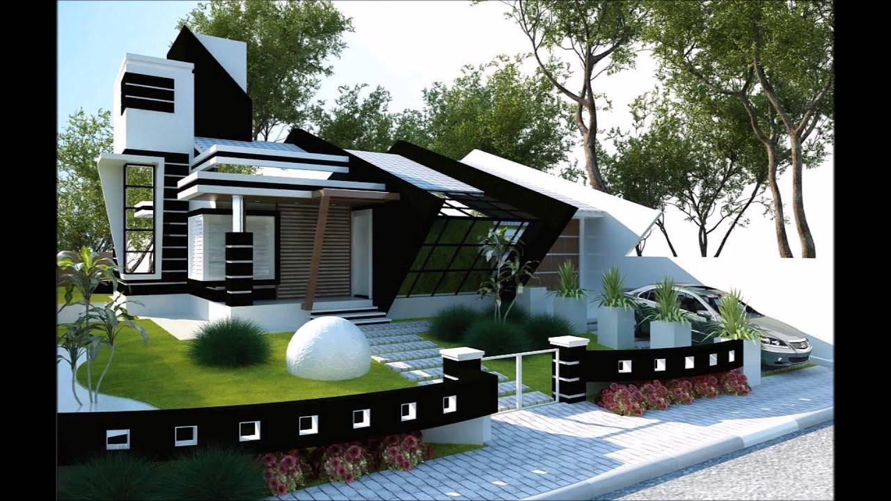 Fachadas de casas youtube for Fachadas de casas ultramodernas