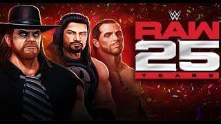 WWE Mayhem | 25 Years of RAW