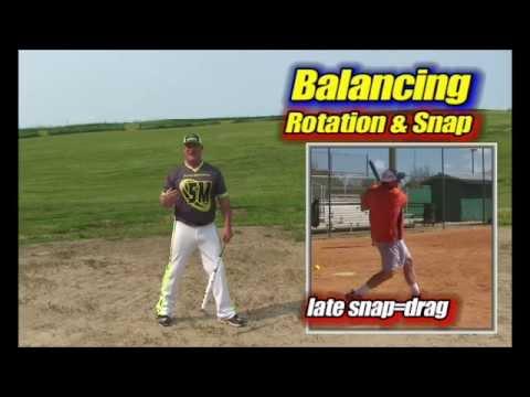 Softball Hitting: Timing U0026 Power Slumps? Balance Rotation U0026 Snap SM #31, Slowpitch Softball Hitting