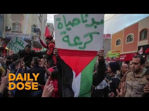 Palestinians Protest Unlivable Conditions in Gaza