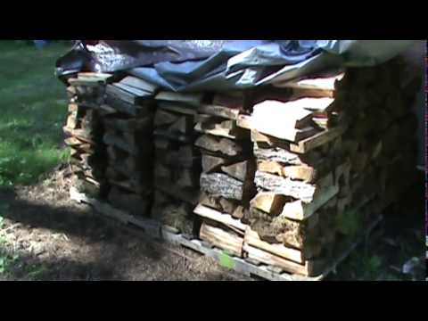 best way to dry firewood fast 2