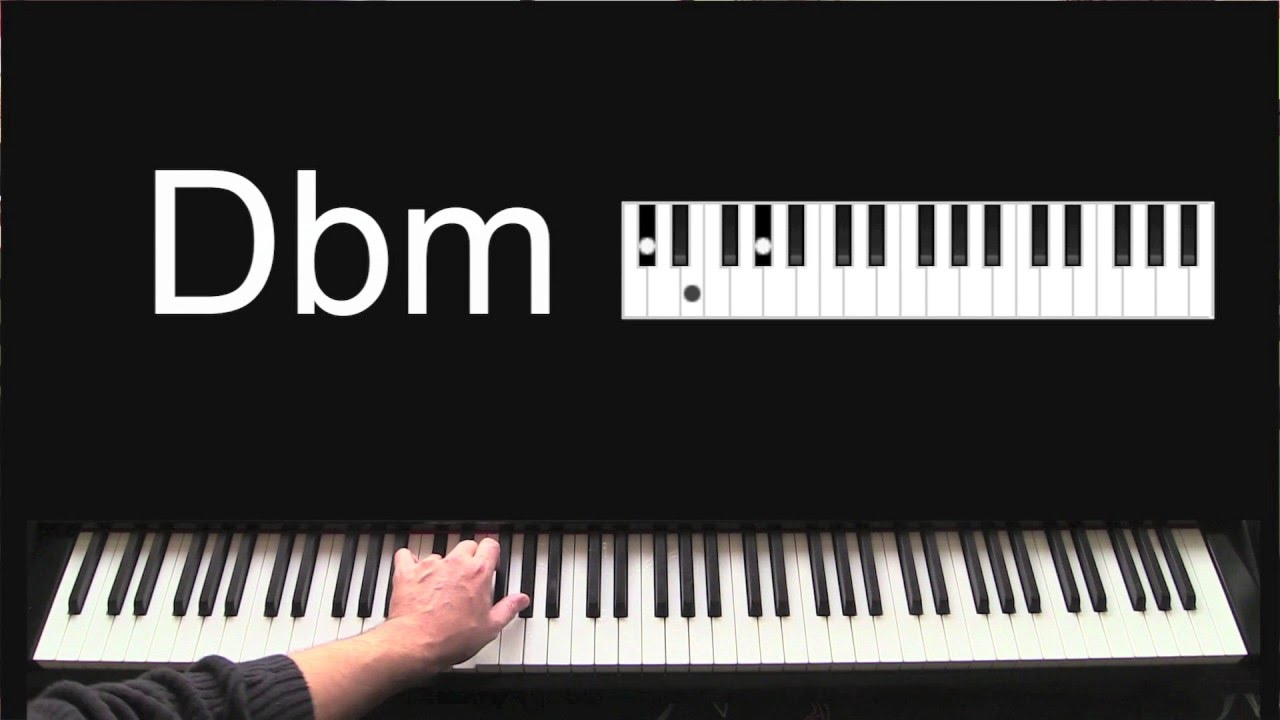 How to play chord dbm learn to play piano chords for beginners how to play chord dbm learn to play piano chords for beginners youtube hexwebz Image collections
