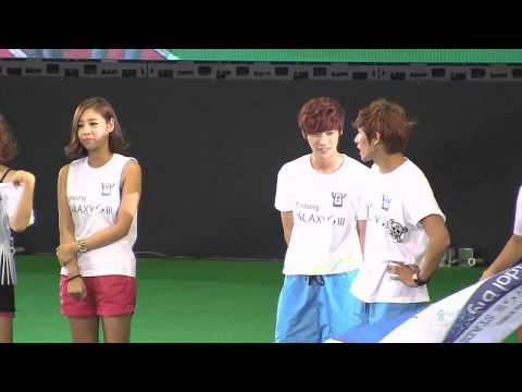 120807 Idol Big Match highlight - JinYoung