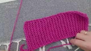 Как закрыть петли спицами? Вязание спицами. Урок вязания для начинающих. Школа вязания. Закрытие