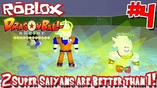 2 Super Saiyans are Better than 1! | Roblox: Dragon Ball Online - Episode 4 (w/ jDantastic)