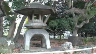 東京都立庭園 5 「初冬の旧岩崎邱庭園」.wmv