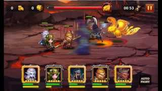 Heroes Charge: Burning Phoenix VI Team 3